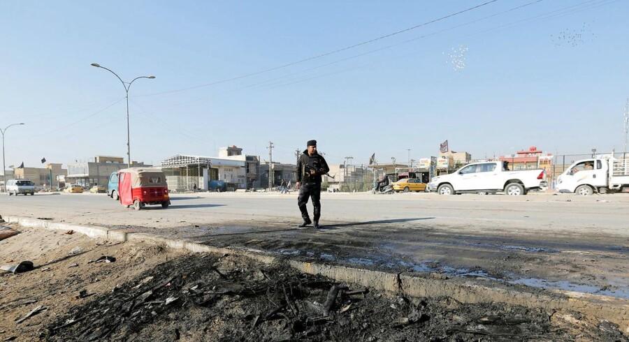 Arkivfoto fra Baghdad.