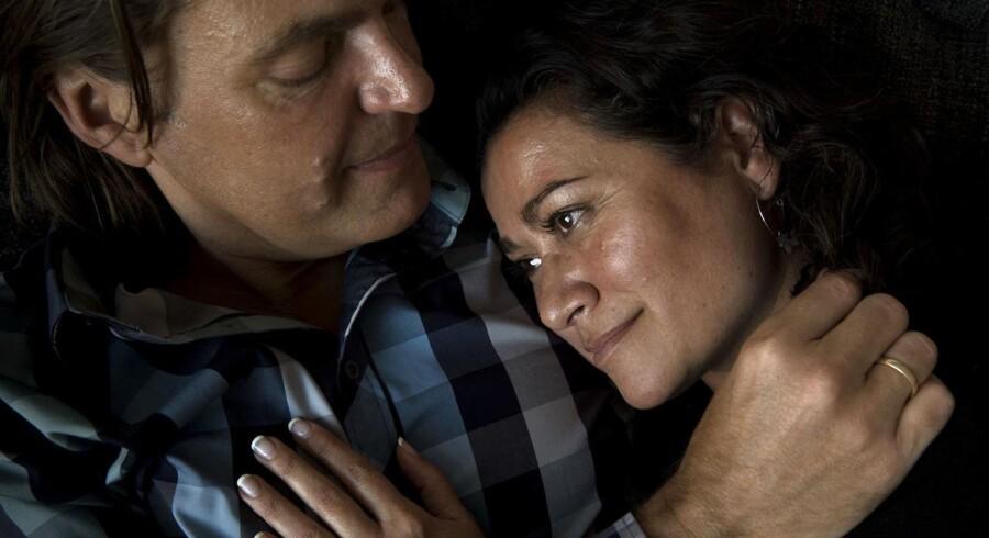 Niels og Jette Blok reddede deres ægteskab ved at begynde i parterapi.