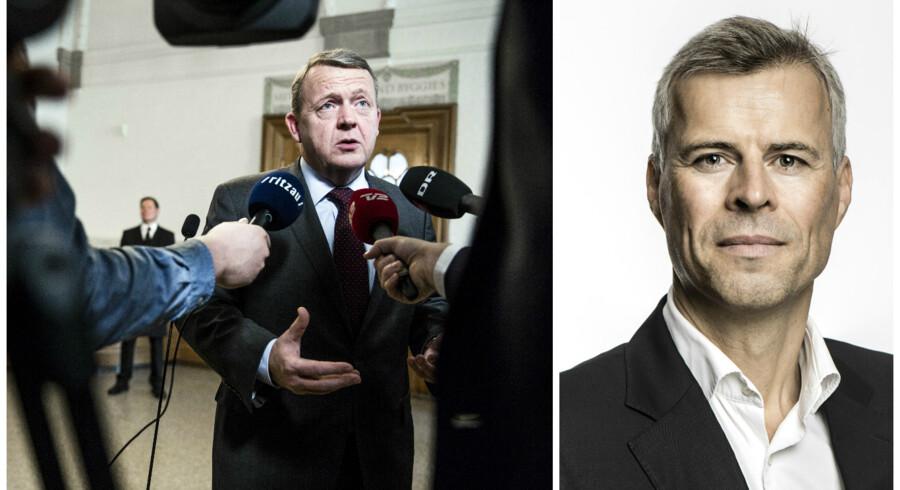 Statsminister Lars Løkke Rasmussen. Berlingskes Thomas Larsen.