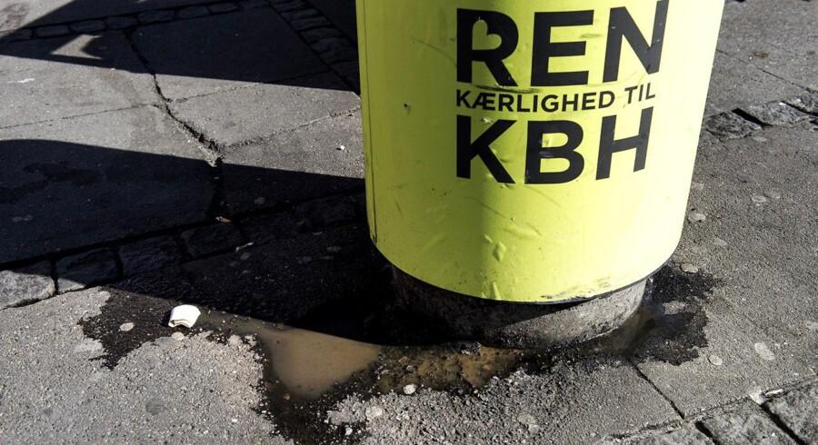 Københavns Kommune overvejer at hjemtage affaldskørslen fra private selskaber. Det risikerer at skade velfærdens økosystem, mener Dansk Erhverv. Arkivfoto: Sofie Mathiassen