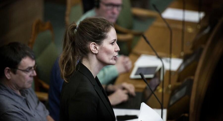 """Maria Reumert Gjerding, miljøordfører hos Enhedslisten, kalder artikel i Berlingske for en """"alvorlig afsløring""""."""