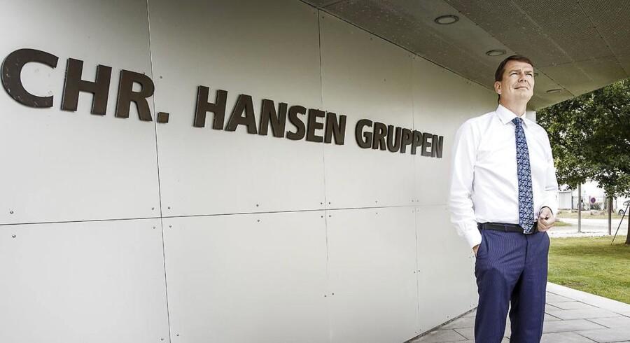 Chr. Hansens topchef, Cees de Jong