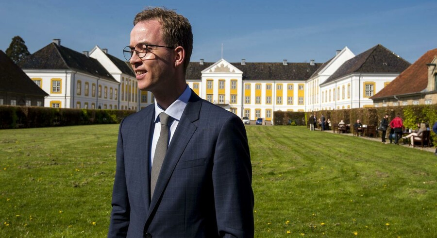 Miljø- og fødevareminister Esben Lunde Larsen (V).