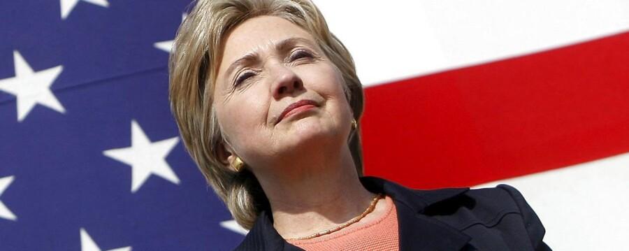Nu er det officielt: Hillary Clinton stiller op som præsidentkandidat.