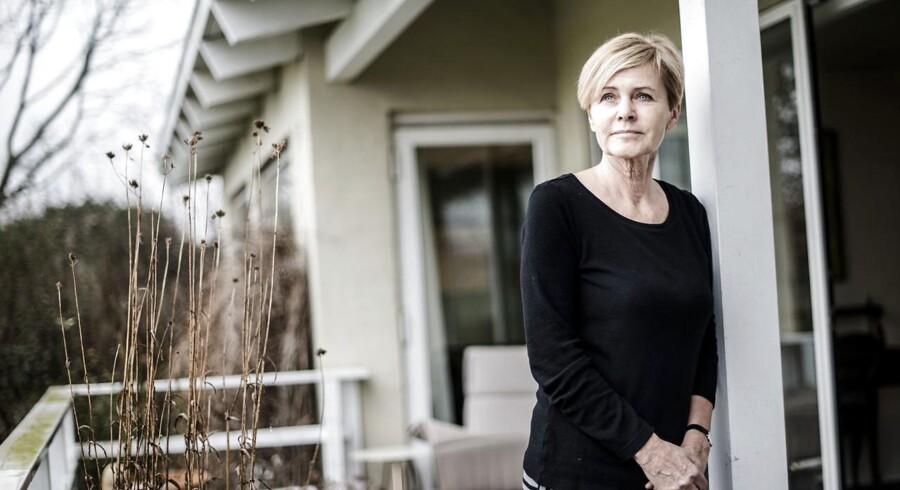 Mette Bock fotograferet i hendes hjem i Horsens.