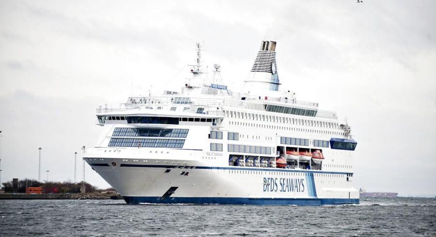 Arkivfoto af Oslobåden, der ankommer til København.