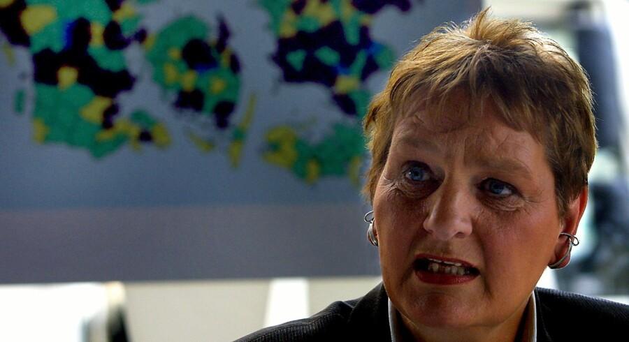 Birte Weiss vidnede i 2012 mod den nu dømte Ratko Mladic. Scanpix/Jan Jørgensen (arkiv)