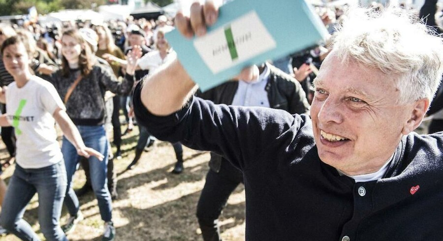 Uffe Elbæk til Folkemødet 2016.
