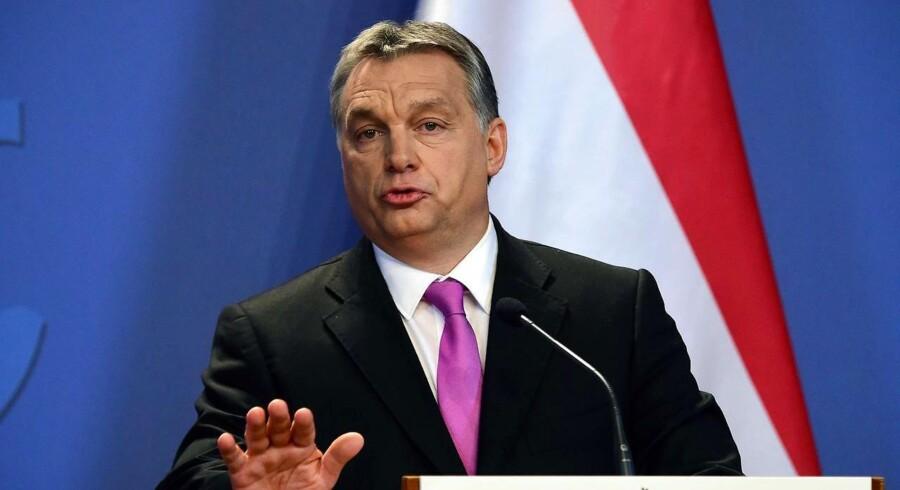 Den ungarske premierminister Viktor Orban har mødt opbakning blandt befolkningen i sit land for sin hårde holdning til indvandring.