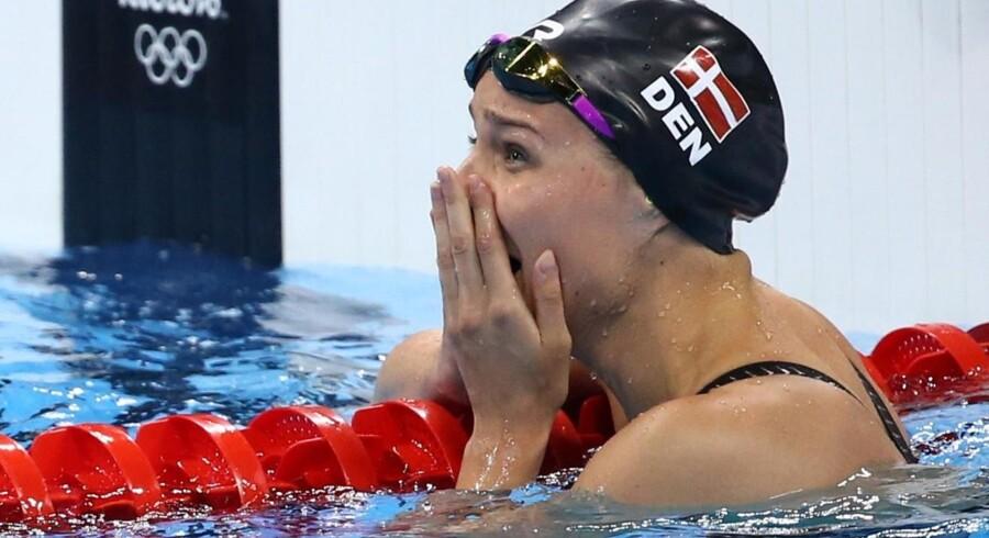 Svømmeren Pernille Blume vandt OL-guld ved legene i Rio sidste år.