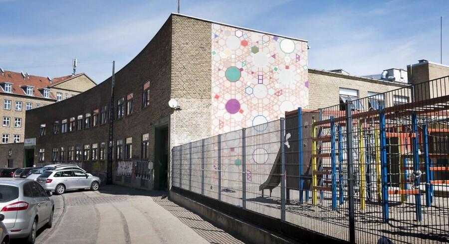 Arkivfoto af Iqra Privatskolen, som har adresse på Hermodsgade 28 2200 København N (Foto: Søren Bidstrup/Scanpix 2017).