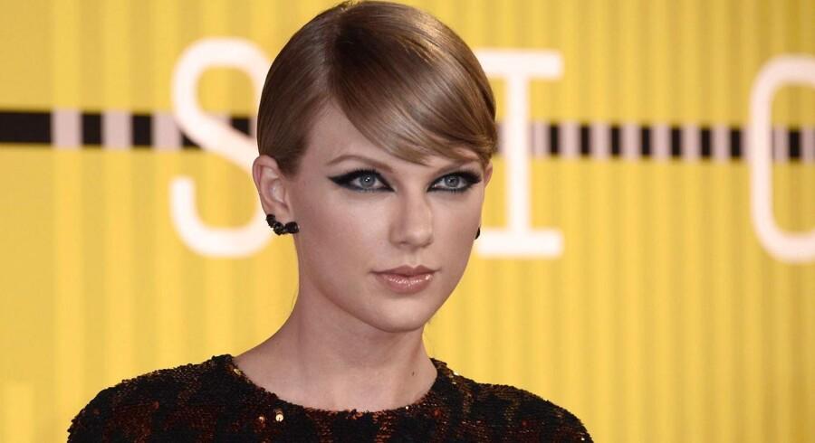 Taylor Swift - finder sig ikke i noget.
