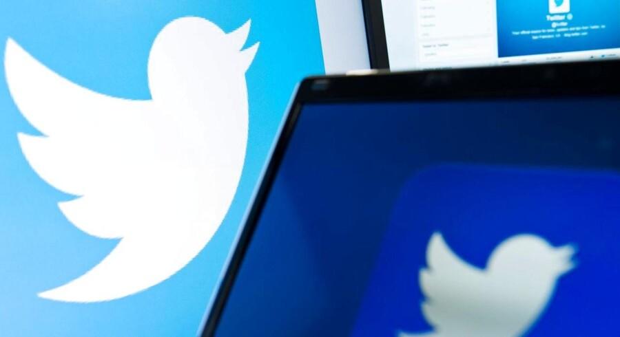 Fuglene flyver fra reden hos Twitter, som har svært ved at holde på topfolkene. Arkivfoto: Leon Neal, AFP/Scanpix