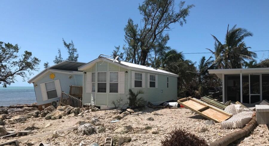Florida Keys var det første sted, Irma gik i land i USA som en kategori 4-orkan, og området blev ramt meget hårdt af det voldsomme uvejr.