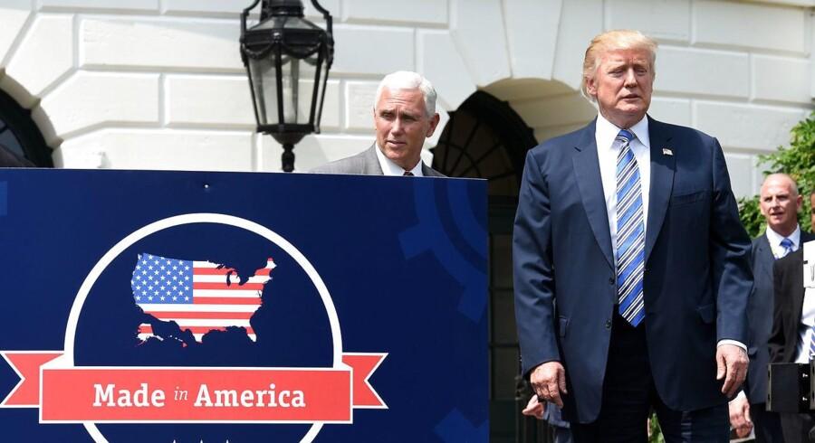 Donald Trump vil genforhandle Nafta, som ifølge ham er den »værste handelsaftale nogensinde.«