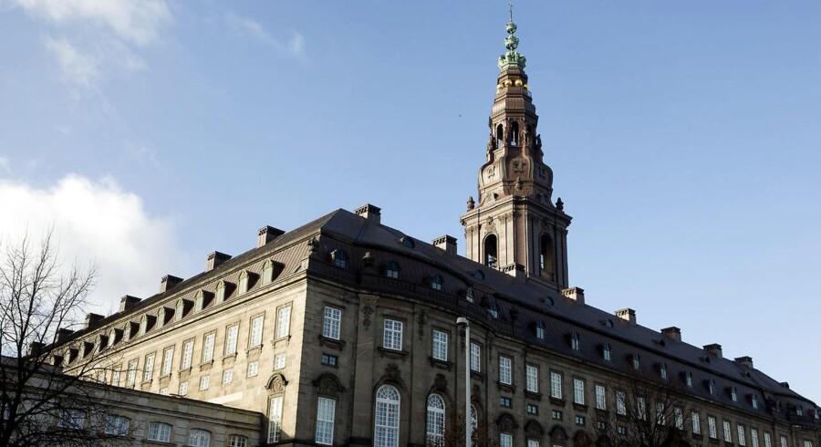 Christiansborg Slot.