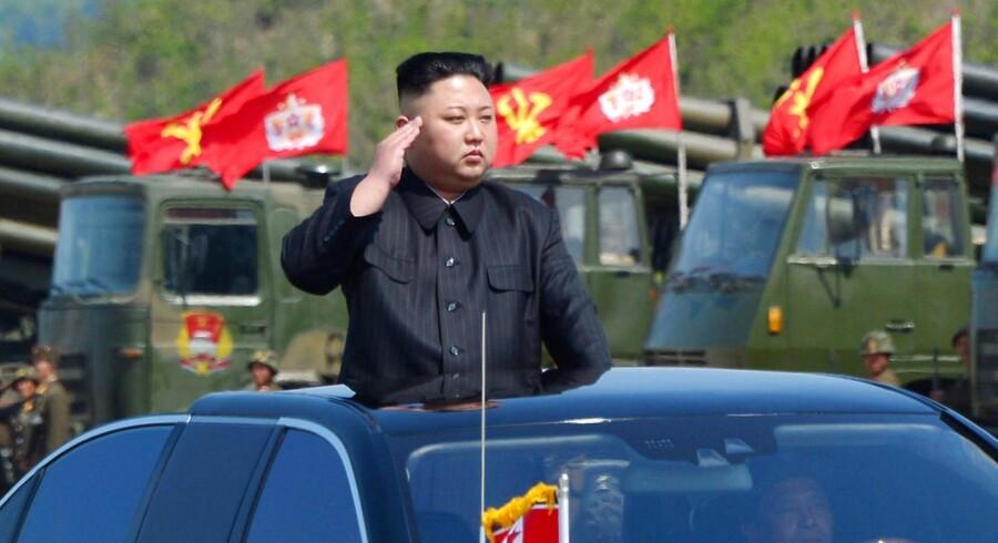 Arkivfoto: Nordkorea gennemførte søndag endnu en prøvesprængning, der har fået verden til at bekymre sig over landets militære kapacitet.