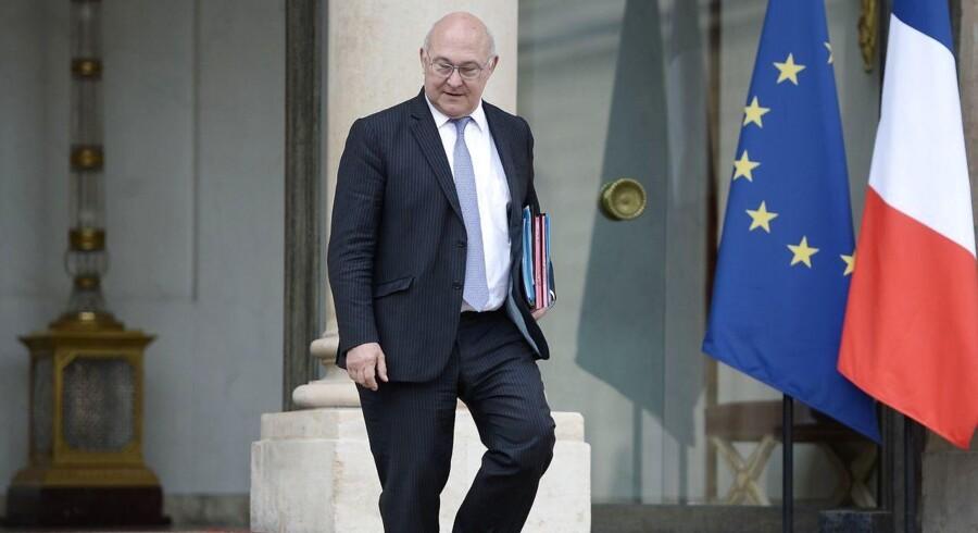 Frankrig vil have sine skattepenge, og derfor bliver der ikke tale om nogen skatteaftale med Google, fastslår den franske finansminister, Michel Sapin. Arkivfoto: Stephane de Sakutin, AFP/Scanpix