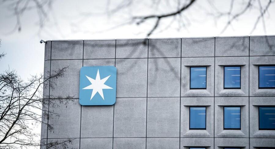 Mærsks danske hovedkvarter på Esplanaden i København.