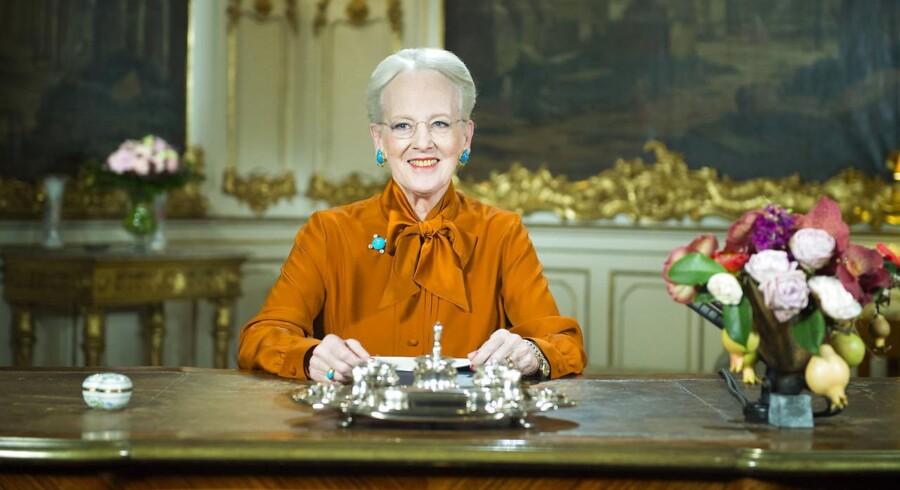 H.M. Dronningens nytårstale på Fredensborg Slot.