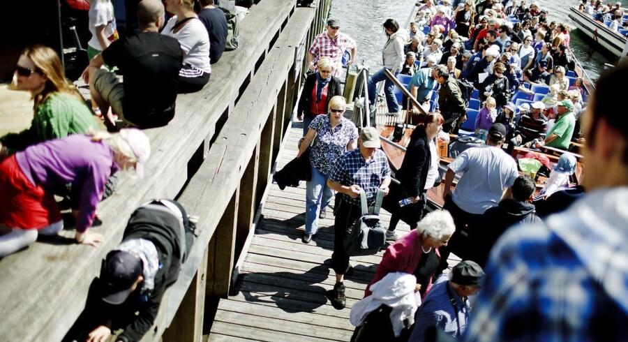 Turister i Nyhavn (Arkiv)