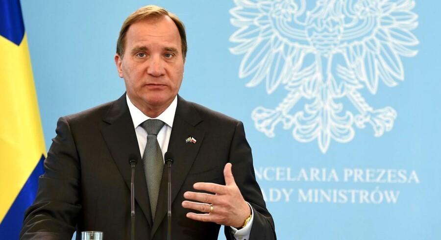 Arkivfoto. En stor it-skandale truer med at fælde den svenske regering, skriver flere svenske medier.