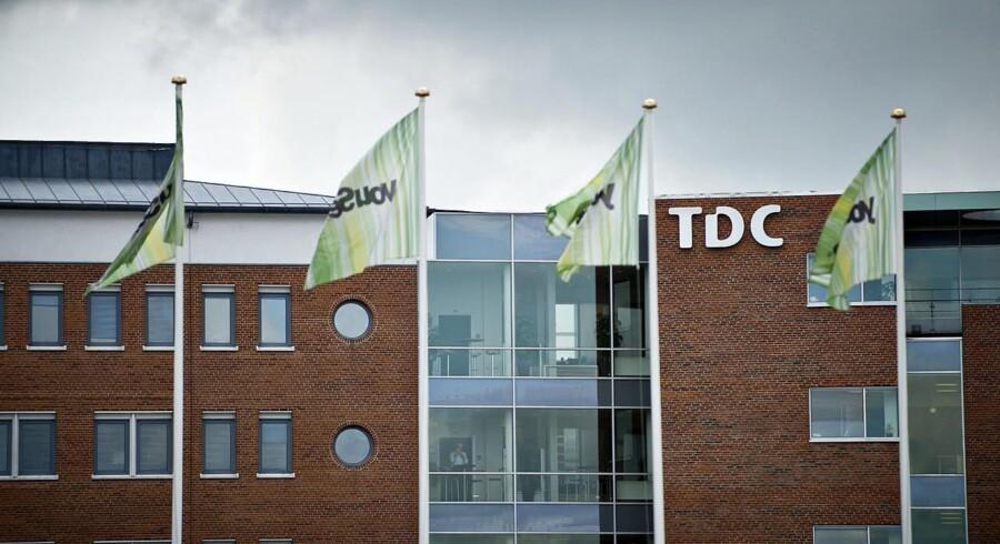 Antallet af storaktionærer i Danmarks største telekoncern er skrumpet igen. Arkivfoto: Jeppe Bøje Nielsen, Scanpix