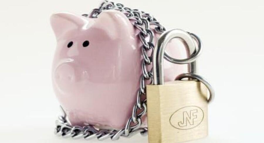 Danskerne sætter flere og flere penge i banken. Free/Colourbox / Arkiv