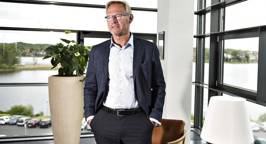 Jyske Bank-topchef Anders Dam kan potentielt føje boliglån for milliarder til porteføljen gennem et opkøb af Nordjyske Bank.