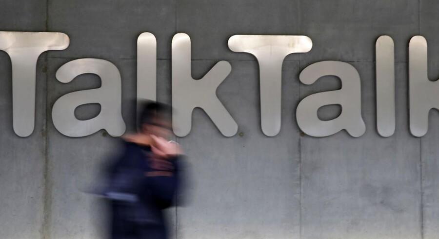 Flere end fire millioner kunder hos det britiske bredbåndsselskab TalkTalk har tilsyneladende fået stjålet deres personlige oplysninger ved et hackerangreb. Arkivfoto: Stefan Wermuth, Reuters/Scanpix
