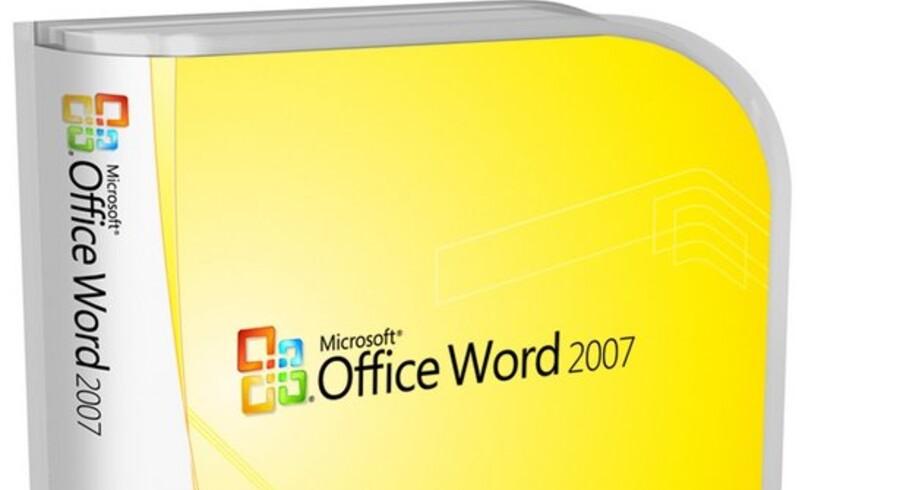 Der er i øjeblikket forbud mod at sælge Word i USA - og det vil Microsoft have ophævet.