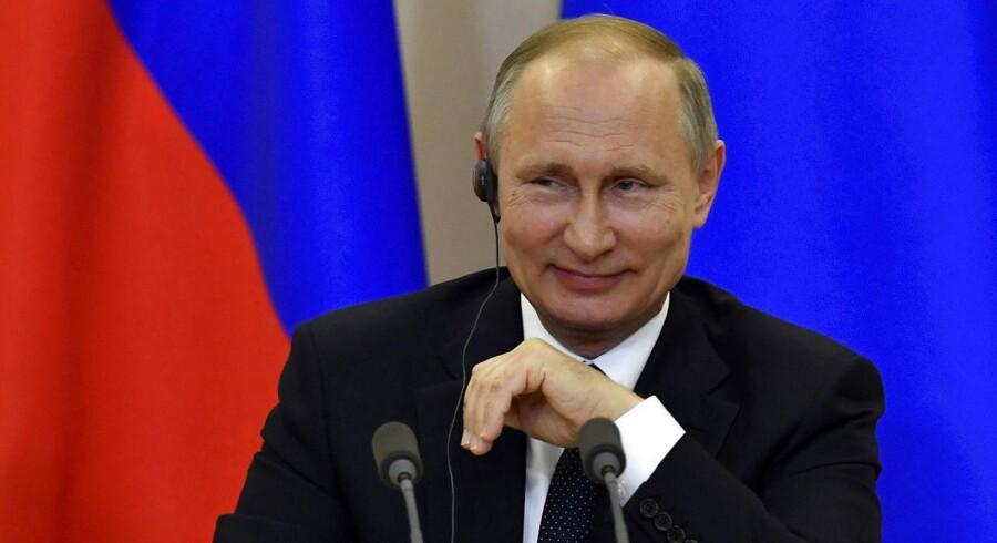Som svar på USA's udvisning af diplomater skal Rusland nu være parat til at gøre det samme, siger embedsmænd. (Foto: POOL/Scanpix 2017)