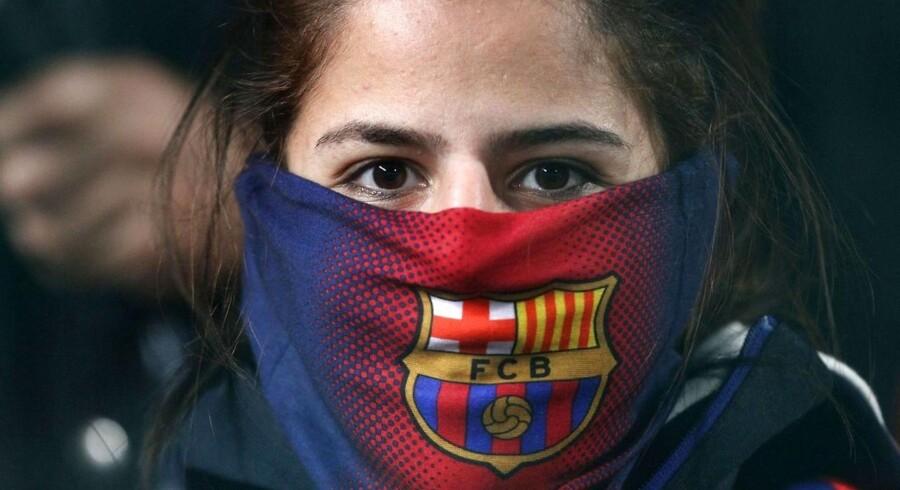 Skal det nu være forbudt at komme med tilråb til fodboldkampe, spørger Berlingskes korrespondent i Spanien. Arkivfoto: Yiannis Kourtoglou/AFP