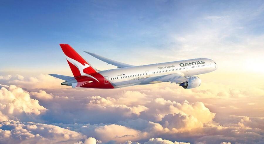 Verdens længste: Passagerer, der skal fra England til Australien, kan nu se frem til at få skåret mellemlandingen fra. Australsk flyselskab planlægger at åbne 17 timers flyrute mellem de to lande.