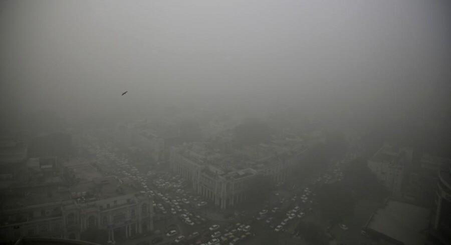 Helt op til ni ud af ti mennesker i verden indånder usund luft, viser nye data.