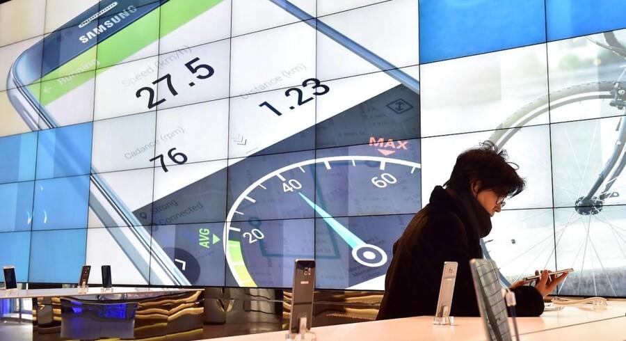 Verdens forbrugere opbygger ikke længere en større og større sult og købelyst efter ny teknologi. Det konstaterer sydkoreanske Samsung i sit regnskab for fjerde kvartal.