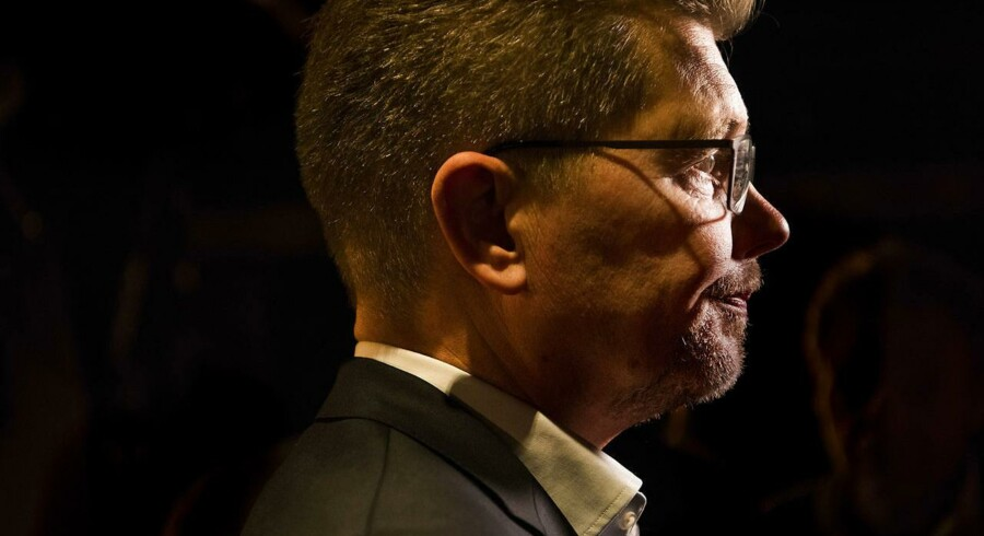 KV2017 Socialdemokratiet i København holder valgfest på valgdagen under Kommunalvalget 2017 i Amager Bio. Københavns overborgmester Frank Jensen.