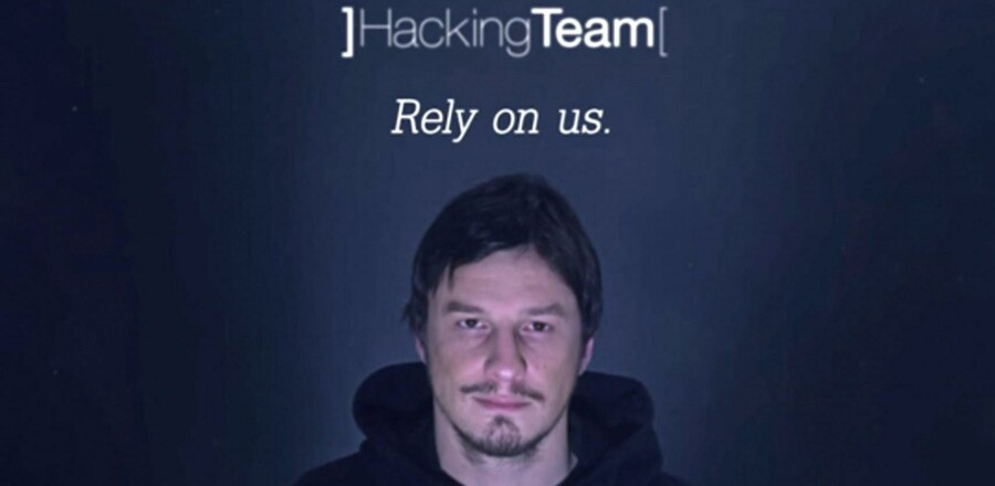 Overvågningsfirmaet The Hacking Team blev udsat for et omfattende læk af op mod 400 gigabyte data. Screendump fra et af firmaets kampagnevideoer