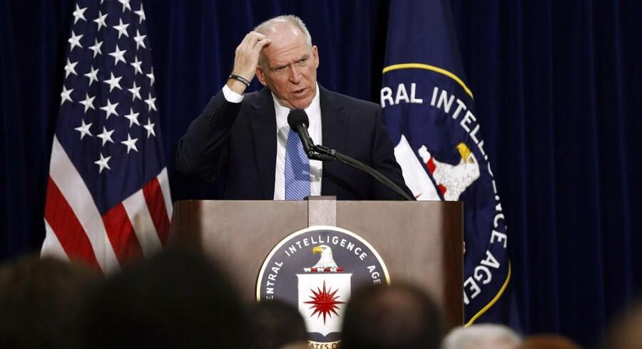 CIA-chef John Brennan under sin pressekonference om tortur.