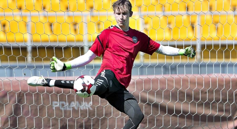 Frederik Rønnow rejser tidligere hjem Abu Dhabi efter ønske fra Brøndby. Scanpix/Henning Bagger