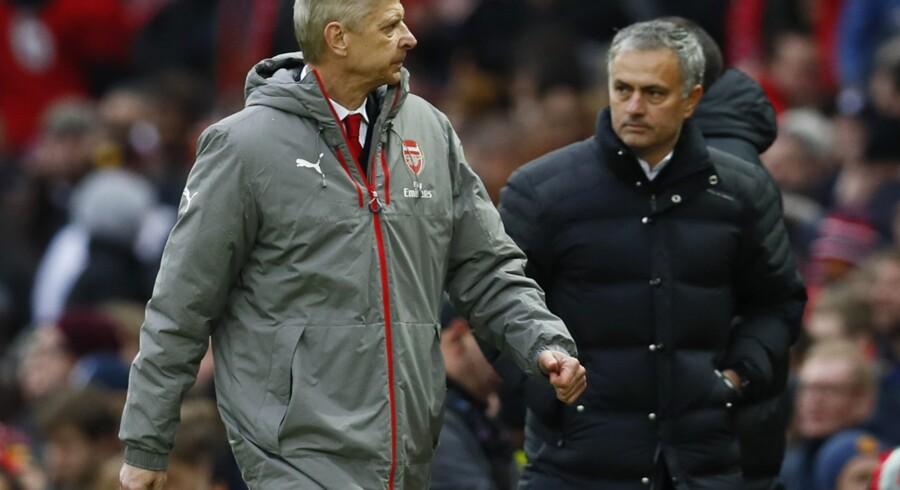 Manchester United-Arsenal-kampen endte 1-1. Reuters/Jason Cairnduff