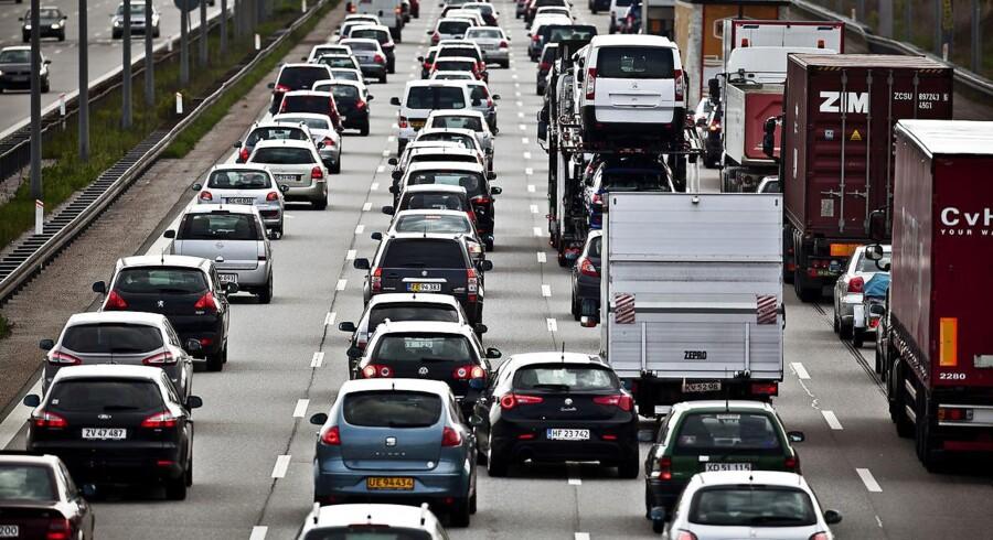 Vejdirektoratet har lavet tidsmålinger, der viser effekten af en større udvidelse af Helsingørmotorvejen nord for København.