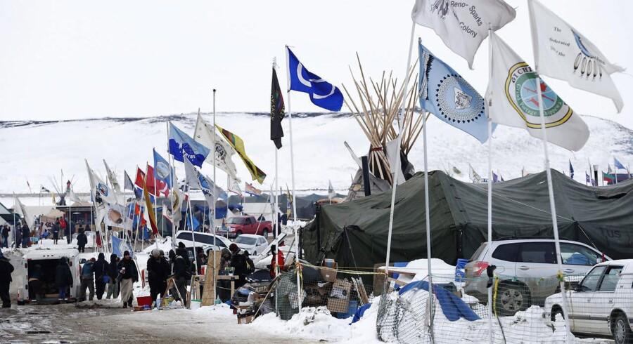 Projektet med navnet Dakota Access Pipeline skal efter planen strække sig over fire amerikanske stater. Men ikke hvis det står til Siouxindianerne.