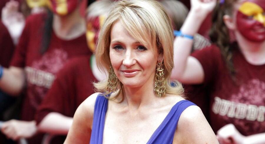Forfatteren bag Harry Potter Joanne K. Rowling er blandt de bedst tjenende forfattere i verden.
