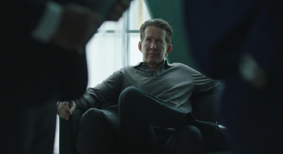 Thomas Bo Larsen har en hovedrolle i TV3 og Viaplays næste skud i serie-krigen , »Advokaten«. Foto: Gaute Gunnari.