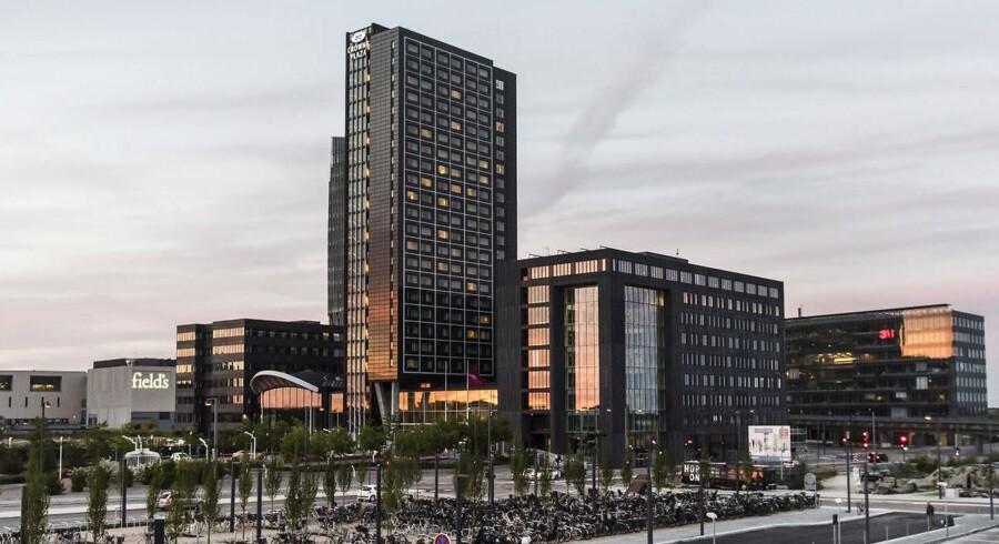 Copenhagen Towers på Amager ligger et kvarters køretur fra lufthavnen og skal huse Det Europæiske Lægemiddelagentur. København har netop scoret højest af alle lande i ny rapport i kampen om at blive værtsby for agenturet.