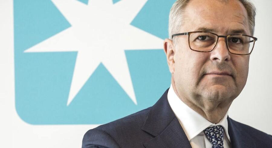 Mærsks topchef , Søren Skou. (Foto: Søren Bidstrup)