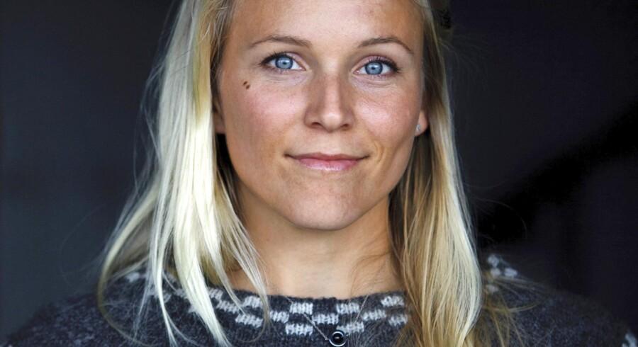 27-årige Christine Spiten regnes for at være en af Norges førende kvindelige iværksættere. Hun er blandt de fire medstiftere af Blueye Robotics, der laver undervandsdroner, som nu begynder at ligne en millionsucces. »Hvis ikke Blueye går godt, så har vi alligevel opnået meget ved at sætte fokus på det, som er visionen. Så nej, vi planlægger efter plan A,« siger hun. Arkivfoto: Javad Parsa