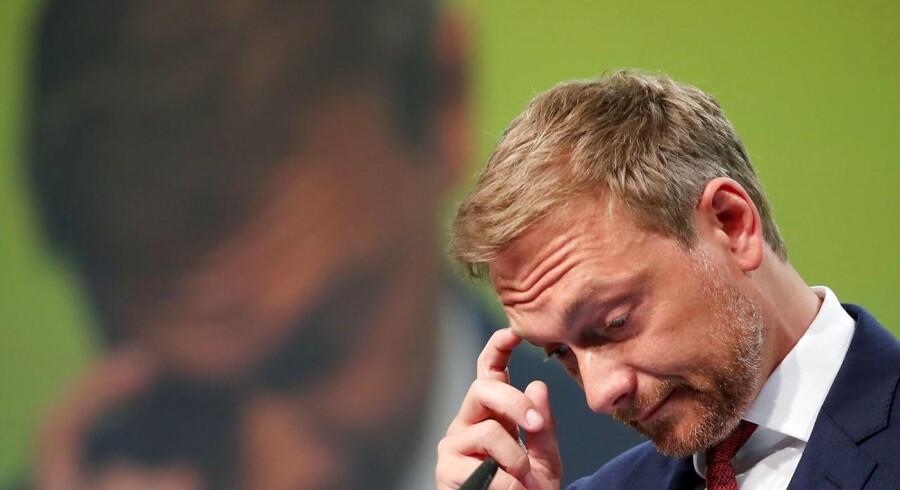 Som formand for de tyske liberale spiller Christian Lindner en central rolle i genrejsningen af FDP, der røg ud af forbundsdagen i 2013. Nu er Lindner havnet i en mediestorm efter en kontroversiel tale om udlændinge med gebrokkent tysk.