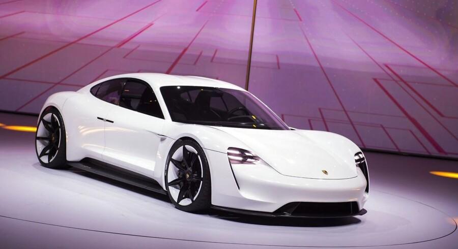 Den nye elbil, Porsche Mission E